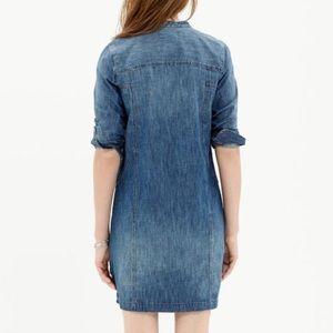 Madewell Dresses - Madewell Denim Blue Downshift Shirtdress Size XS